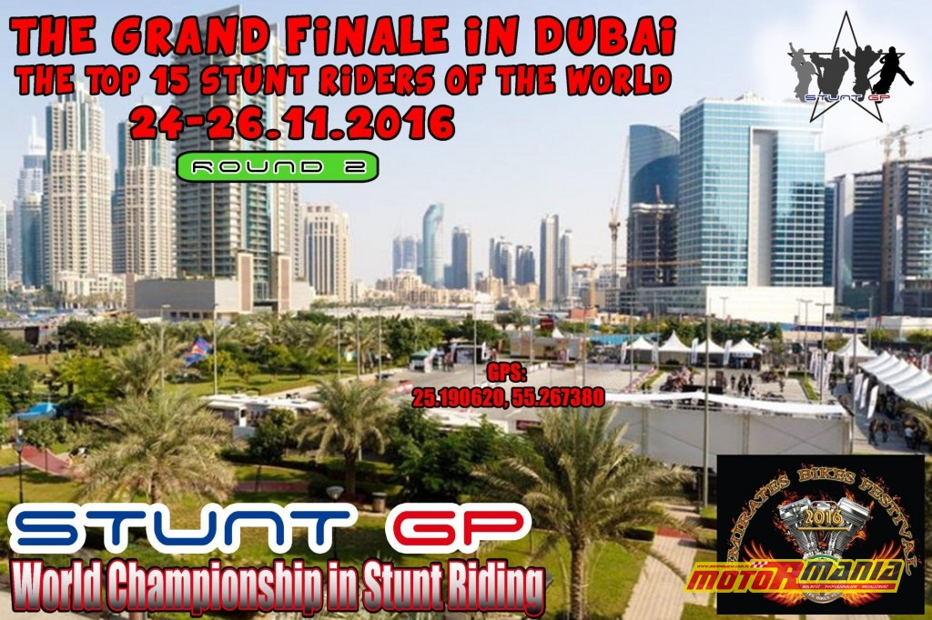 StuntGP w Dubaju 1