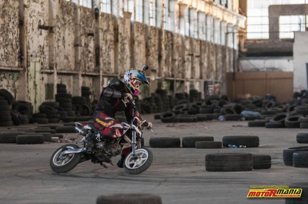 Trening MotoRmania Slajd Zone pitbike listopad 2016 (2)
