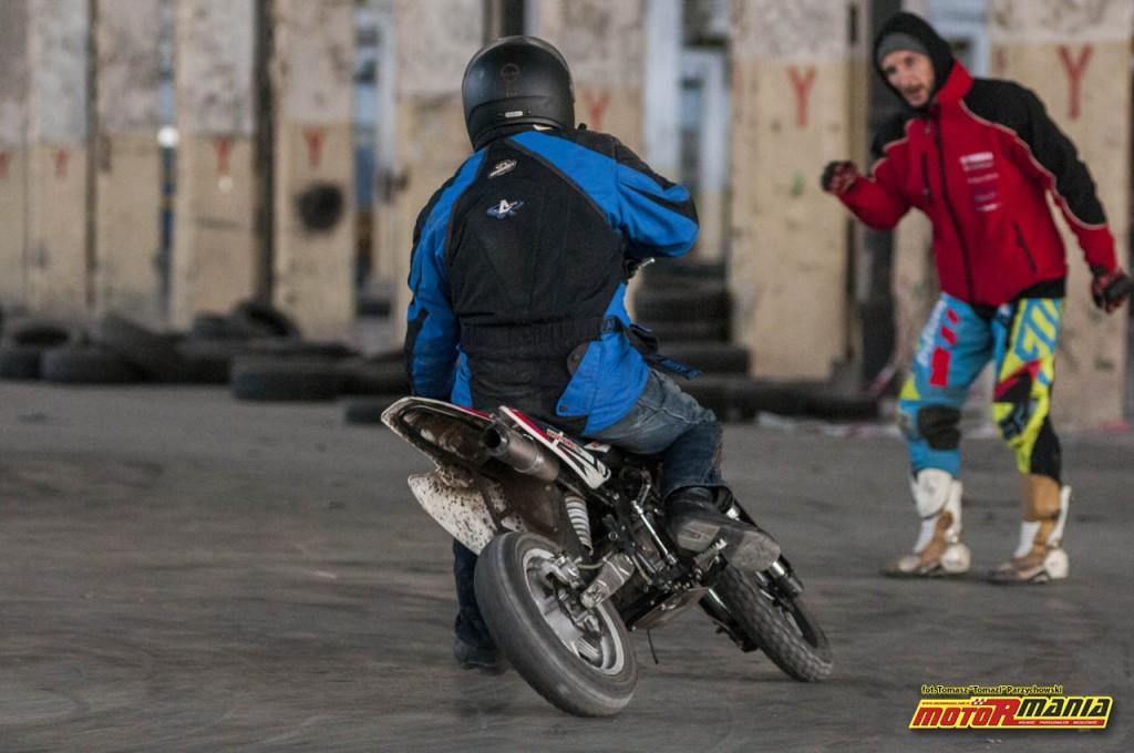 Trening MotoRmania Slajd Zone pitbike listopad 2016 (6)