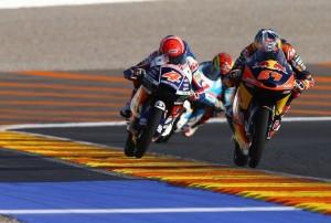 Bensneyder i Di Giannantonio - foto Red Bull KTM Ajo