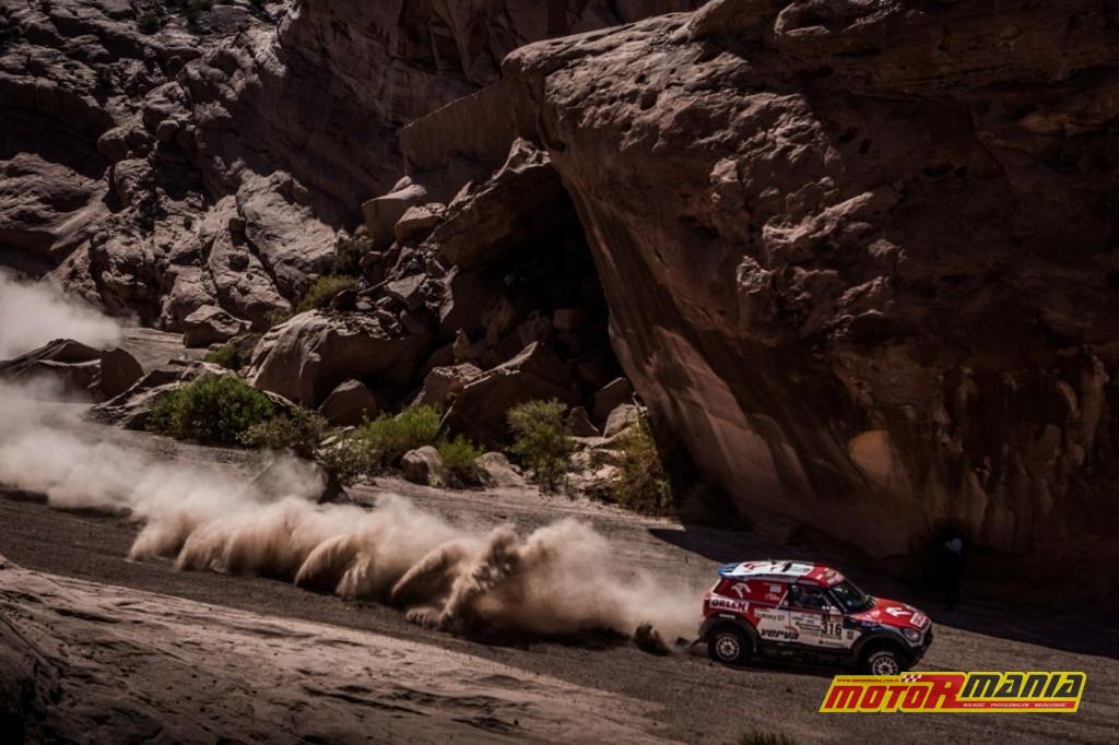 Kuba Przygonski Dakar 17 etap 10