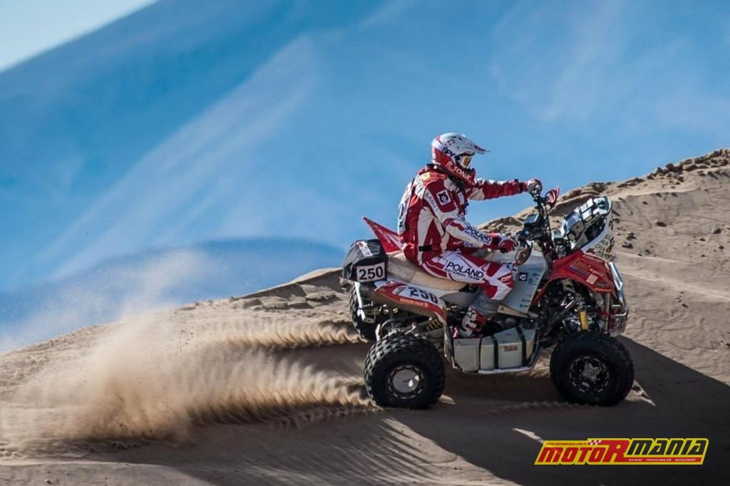 Rafał Sonik Dakar17 - fot Gustavo Epifanio