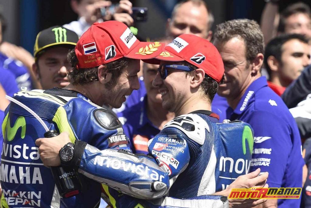 Rossi i Lorenzo przyjaciolmi