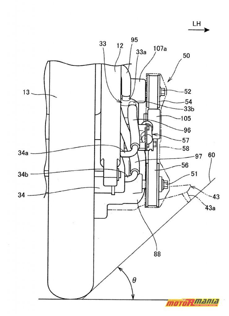 Rysunki patentowe Honda z kompresorem Supercharger (5)