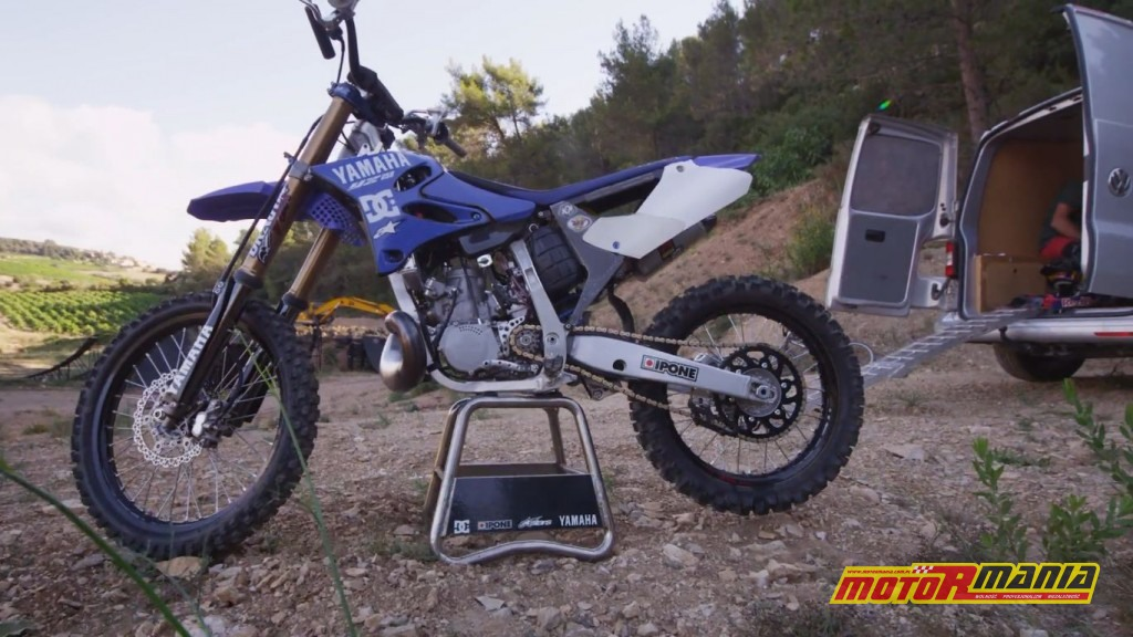 Yamaha YZ250 Tom Pages