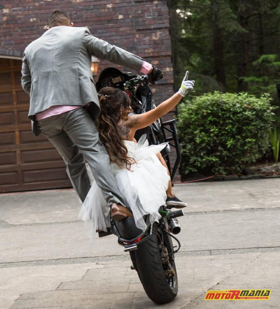 drea i bruce stunt wesele