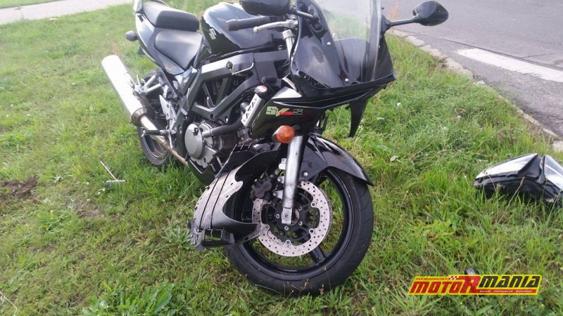 po wypadku Suzuki SV650 2008 ZPL 50KR (1)
