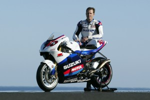 Sezon 2005 był jego ostatnim na Suzuki