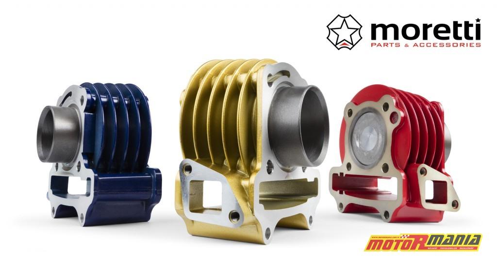 Cylindry Moretti 50 60 i 80 ccm dla silników GY6 (2)