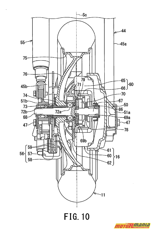 Suzuki Burgman 2WD hybryda elektryk - diagram (10)