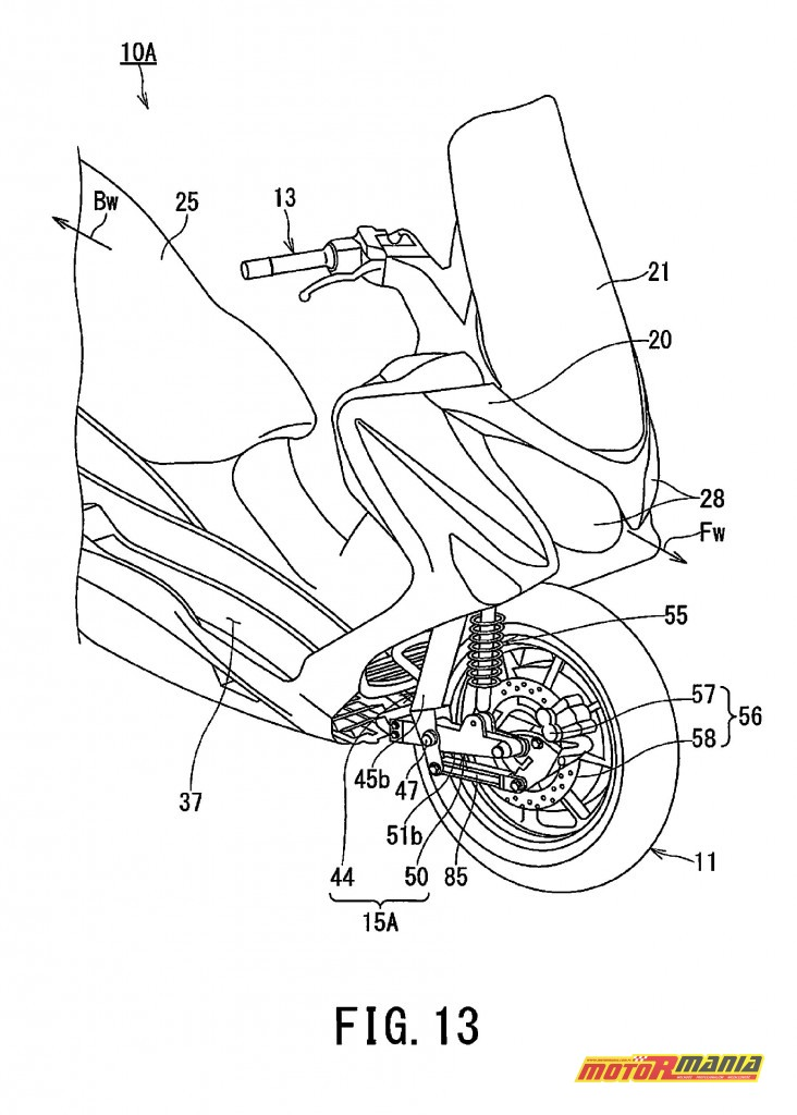 Suzuki Burgman 2WD hybryda elektryk - diagram (13)
