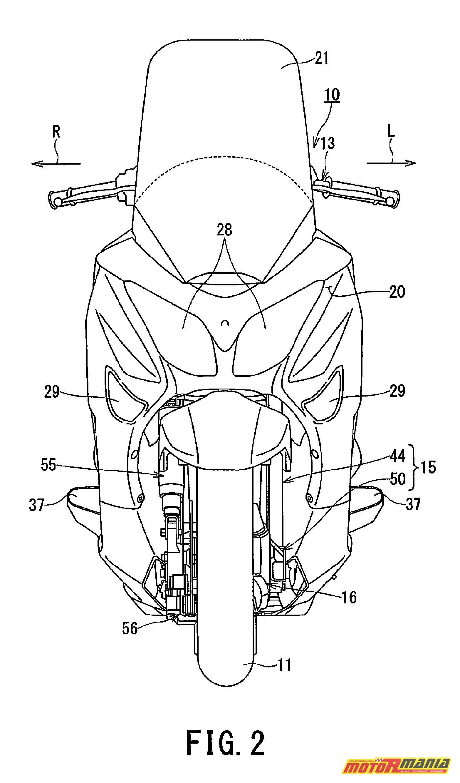 Suzuki Burgman 2WD hybryda elektryk - diagram (2)