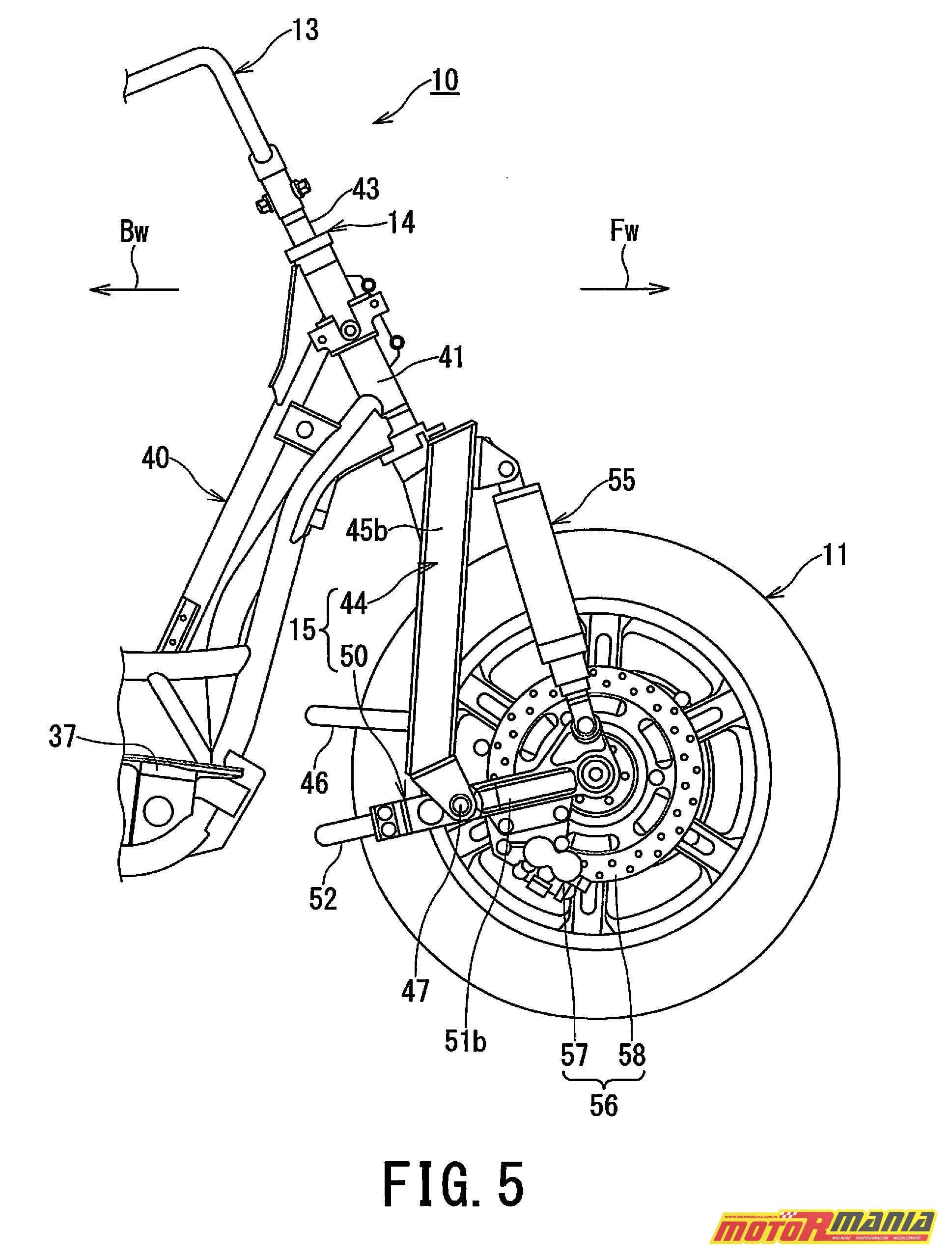 Suzuki Burgman 2WD hybryda elektryk - diagram (5)