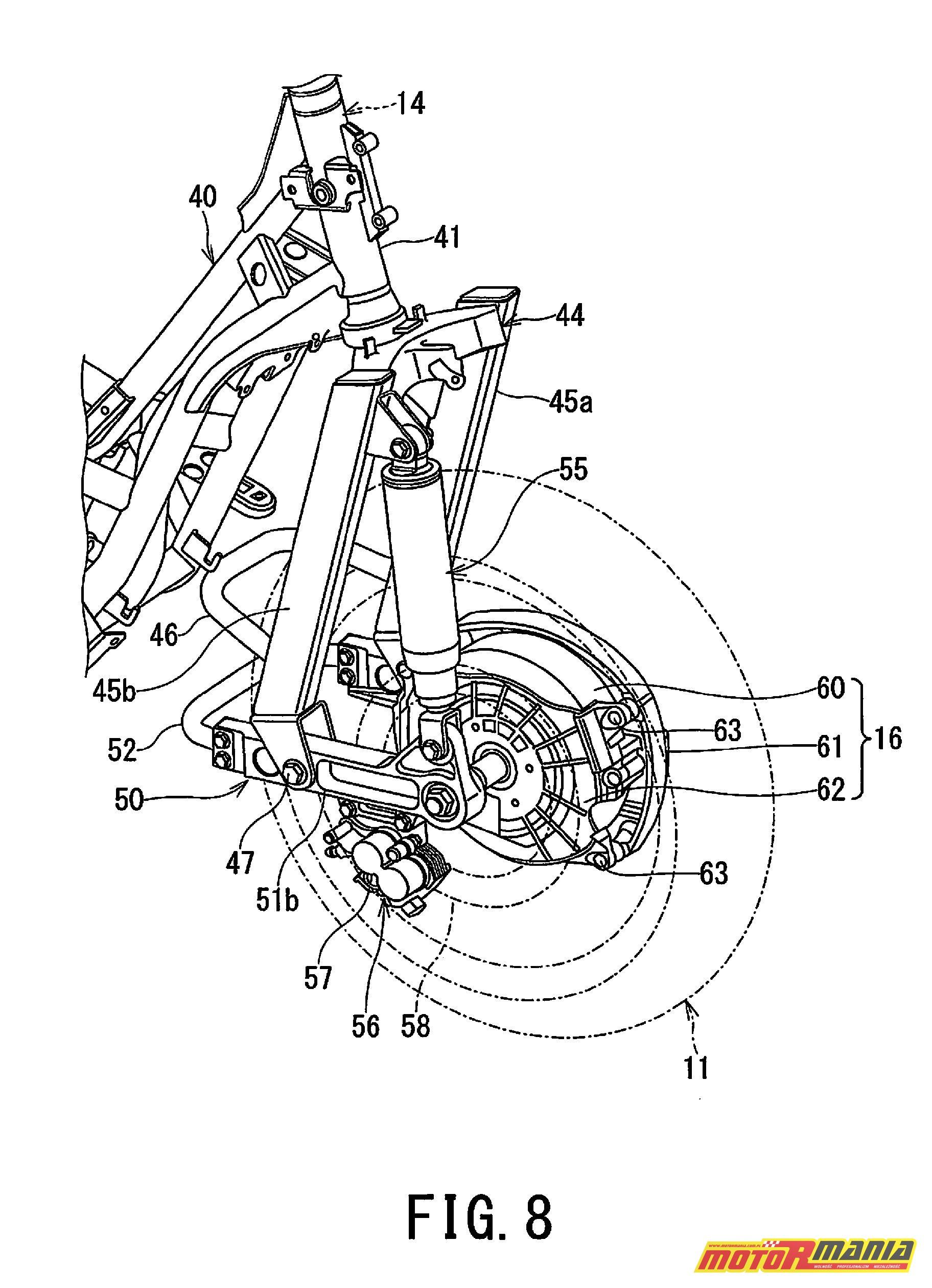 Suzuki Burgman 2WD hybryda elektryk - diagram (8)