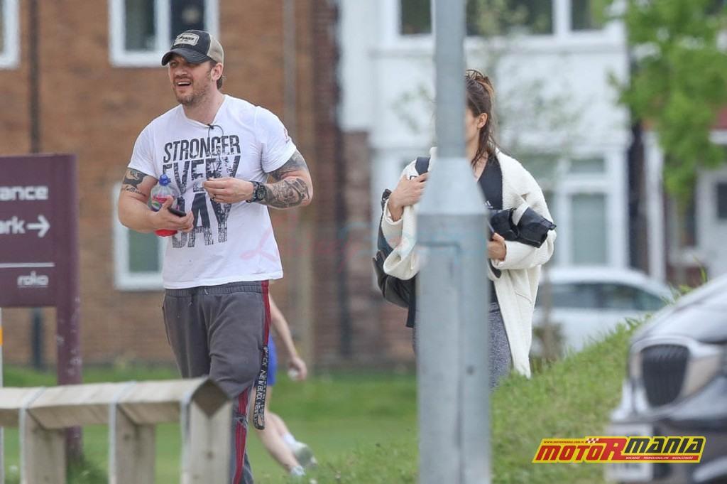 Tom Hardy po silowni, 24 kwiecien 2017