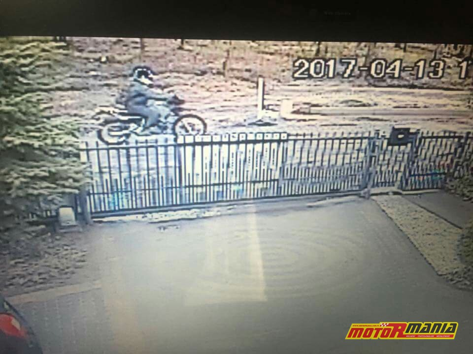 Zielonka - motocyklista potracił dziewczynke i uciekl (1)