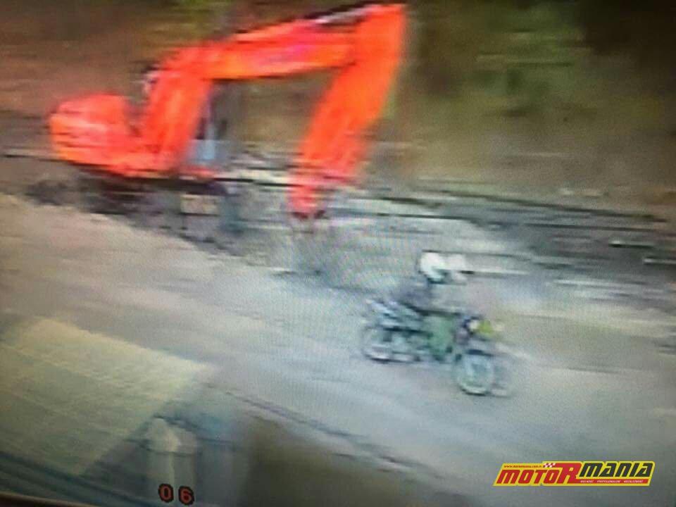 Zielonka - motocyklista potracił dziewczynke i uciekl (2)