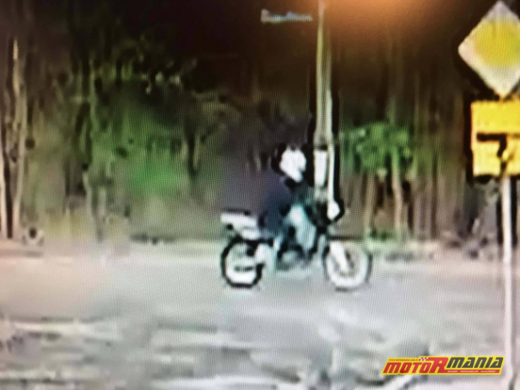 Zielonka - motocyklista potracił dziewczynke i uciekl (3)