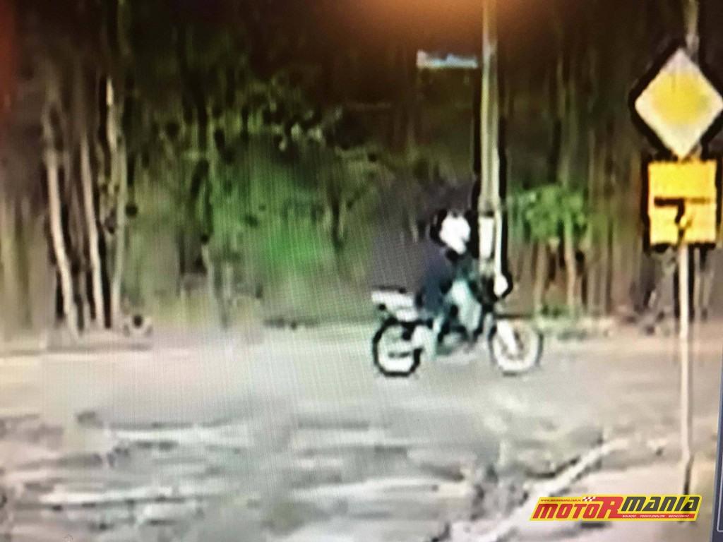 Zielonka - motocyklista potracił dziewczynke i uciekl (5)