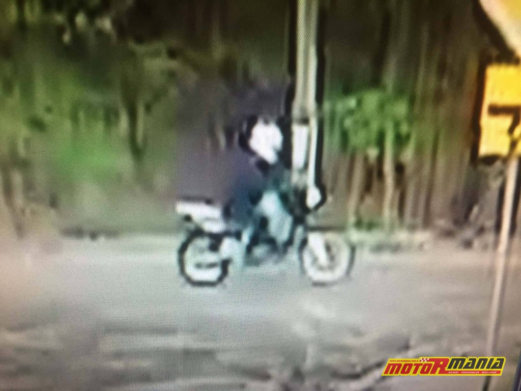 Zielonka - motocyklista potracił dziewczynke i uciekl (6)