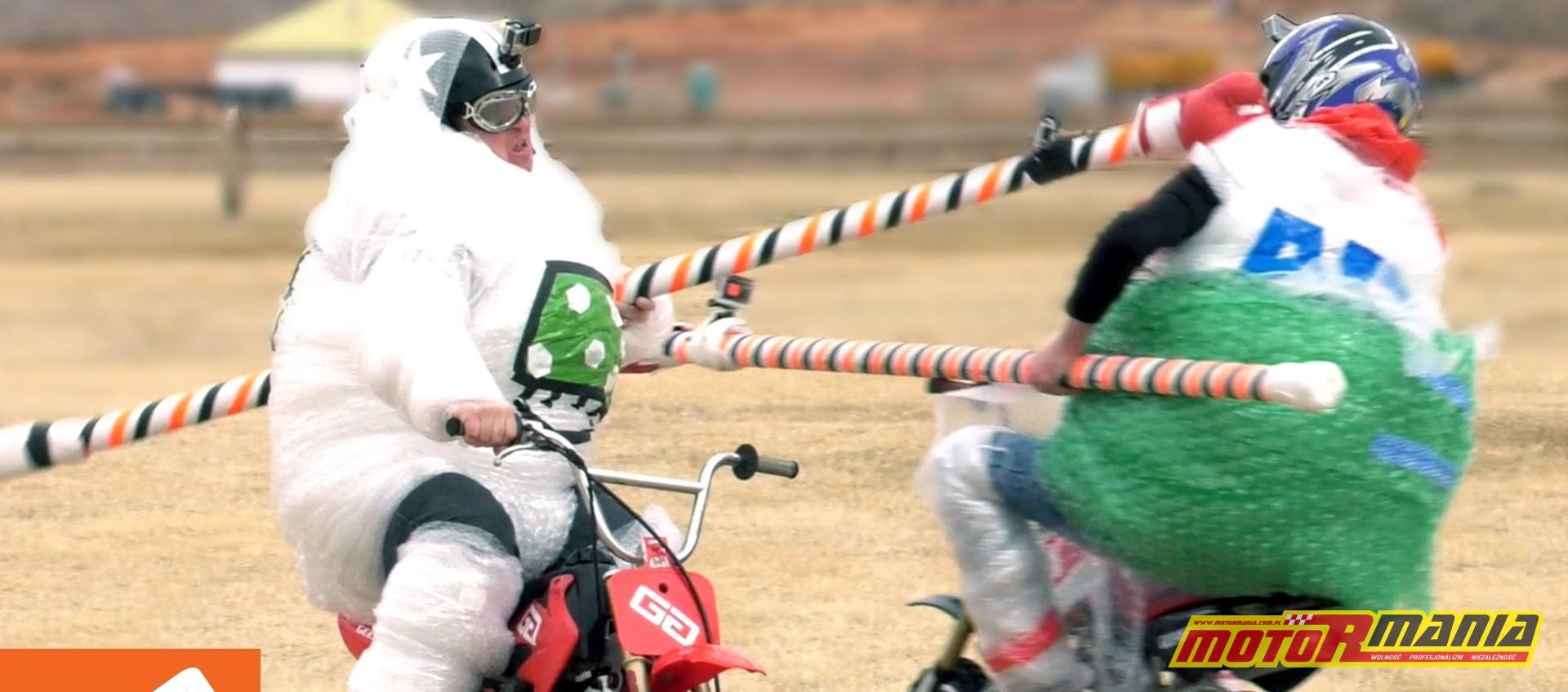 turniej rycerski na motocyklach