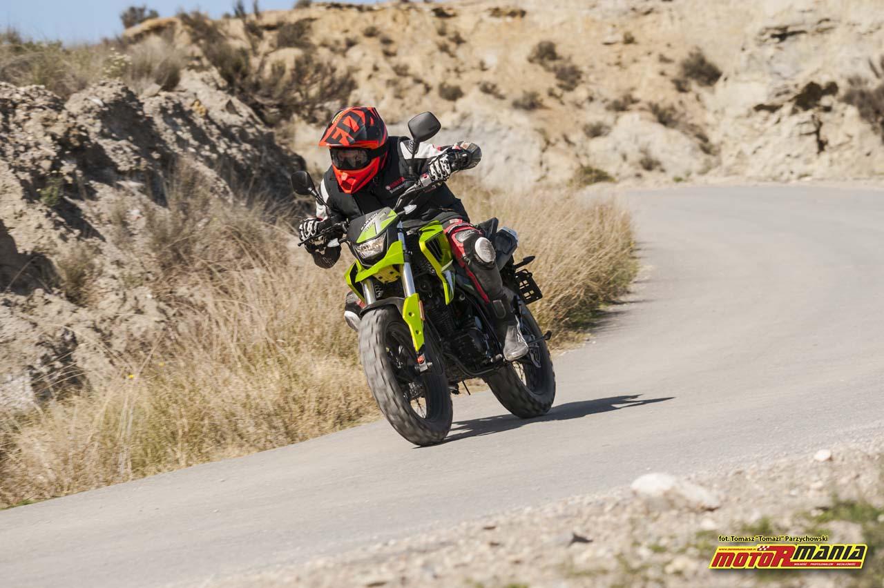 Barton Hyper 125 - MotoRmania test motocykla (2) foto-Tomazi_pl