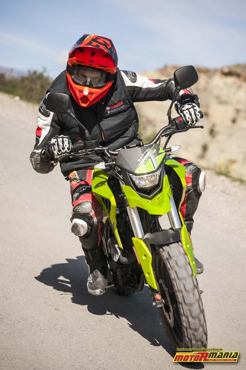 Barton Hyper 125 - MotoRmania test motocykla (7) foto-Tomazi_pl