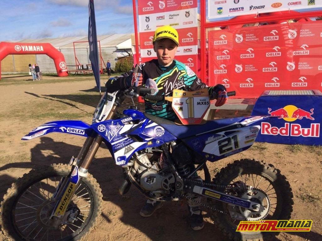 Olaf Włodarczak Mistrzostwa MX85 (1)