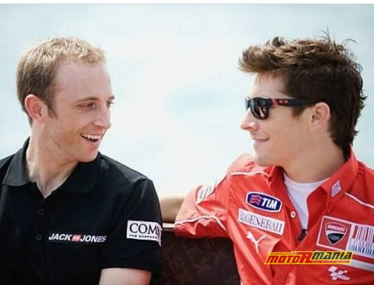 Kenny Noyes i Nicky Hayden