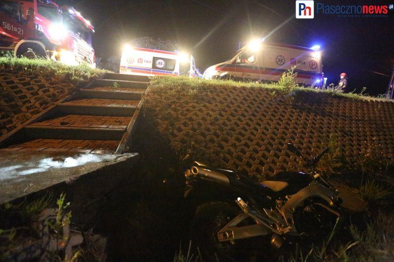 Wypadek motocyklowy gora kalwaria (1) - fot PiasecznoNews_pl