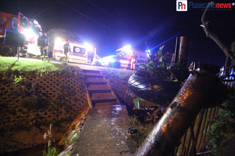 Wypadek motocyklowy gora kalwaria (3) - fot PiasecznoNews_pl