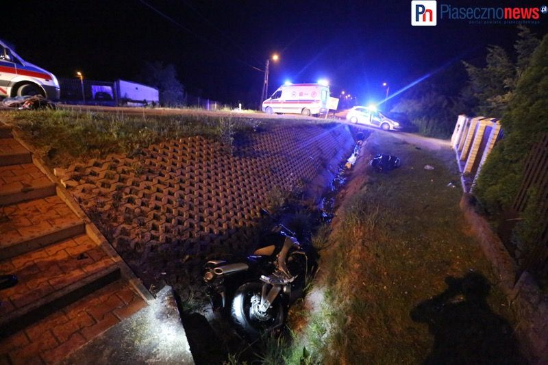 Wypadek motocyklowy gora kalwaria (4) - fot PiasecznoNews_pl