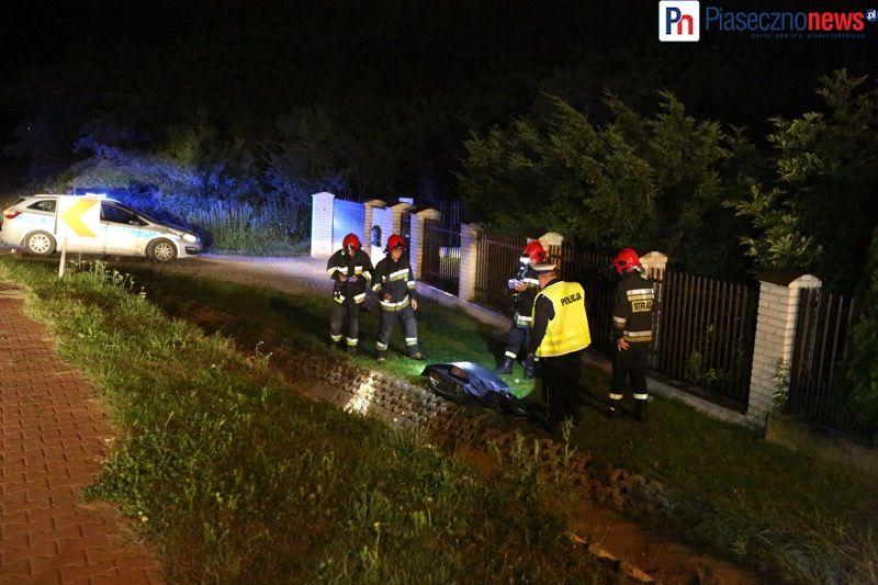 Wypadek motocyklowy gora kalwaria (6) - fot PiasecznoNews_pl