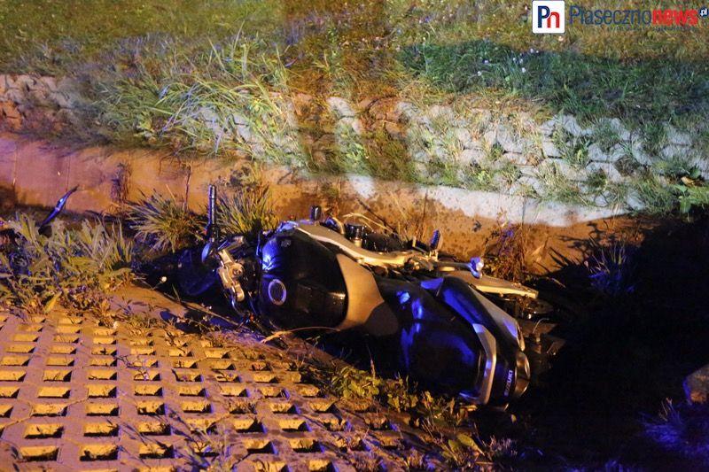 Wypadek motocyklowy gora kalwaria (7) - fot PiasecznoNews_pl