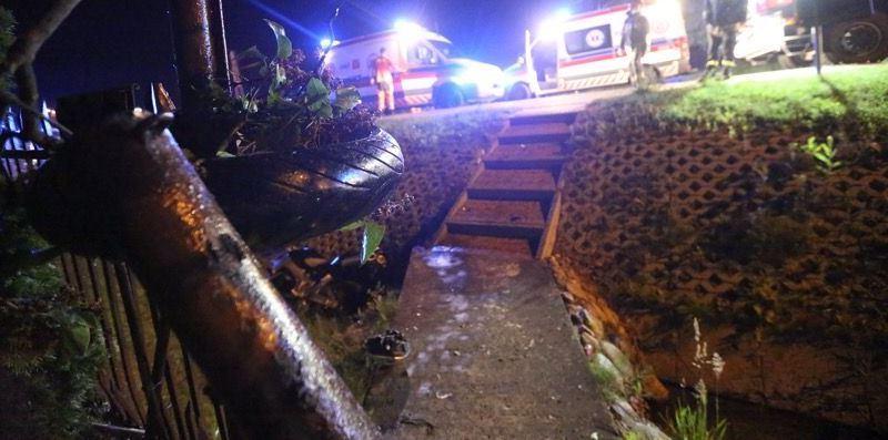 Wypadek motocyklowy gora kalwaria - fot PiasecznoNews_pl