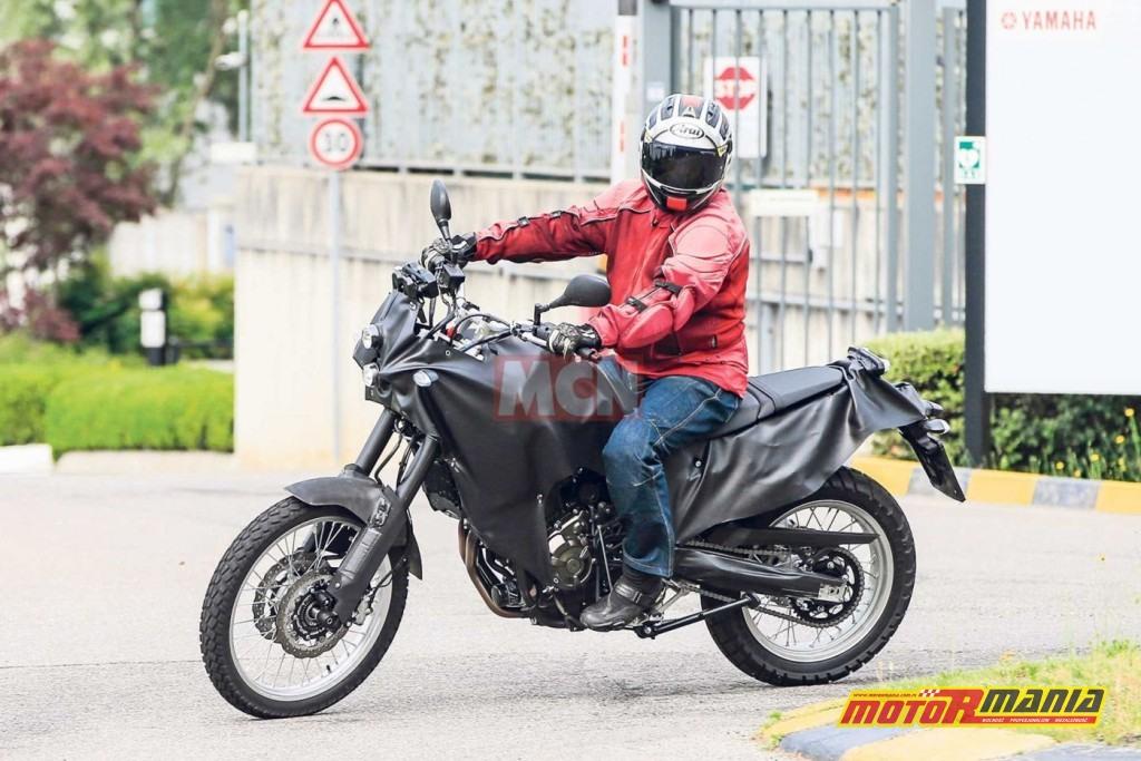 Yamaha MT XT700Z Tenere 2018 zdjecia szpiegowskie (5)
