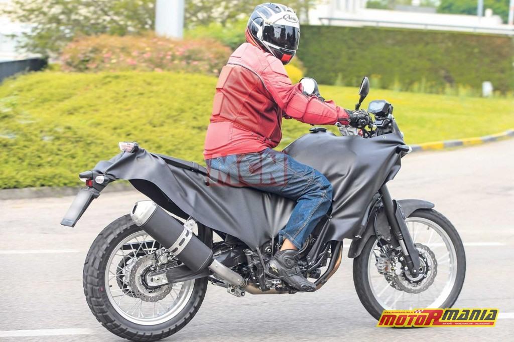 Yamaha MT XT700Z Tenere 2018 zdjecia szpiegowskie _ glowne