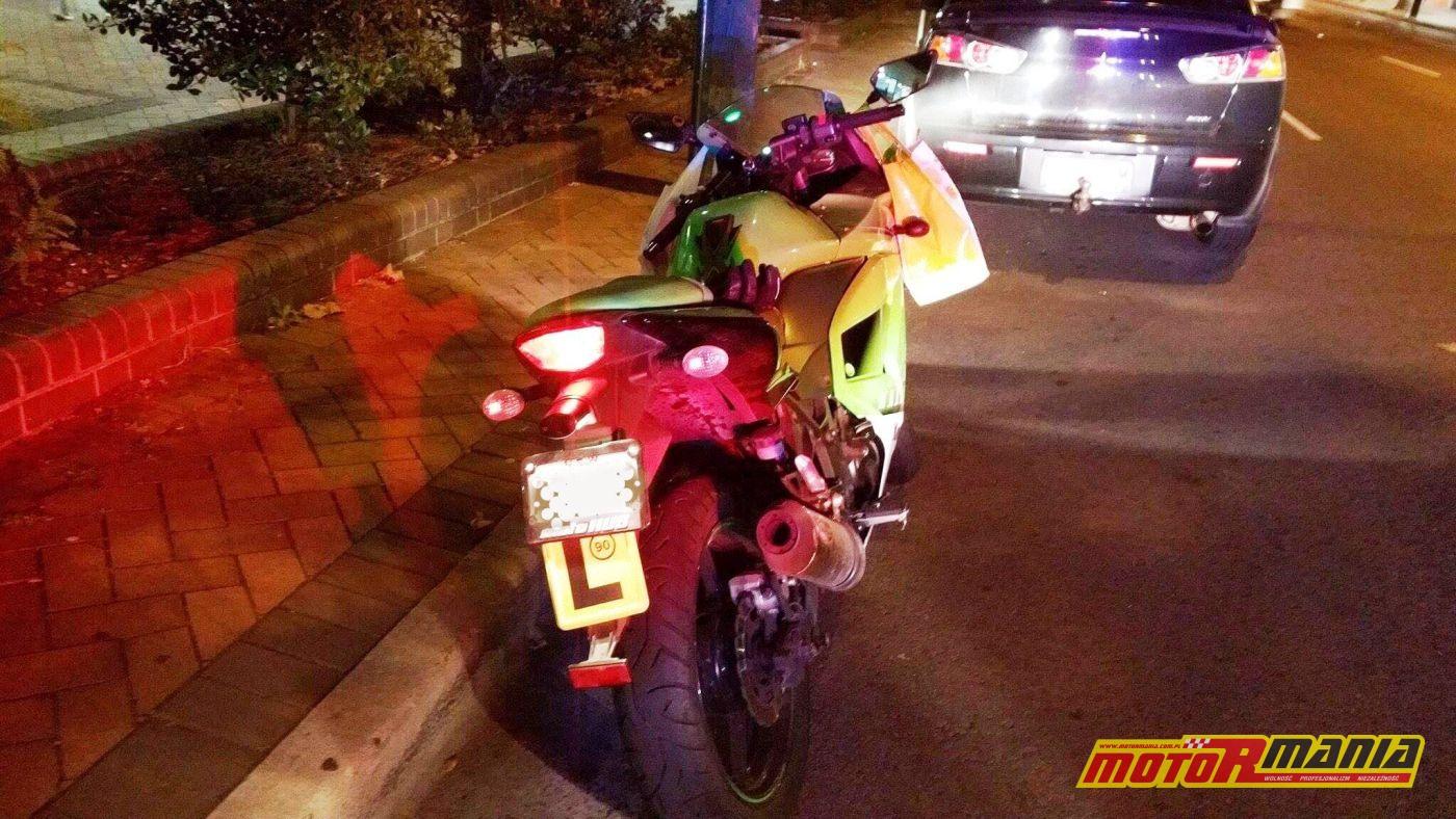 zakupy na motocyklu mandat (1)
