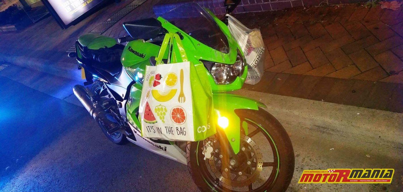 zakupy na motocyklu mandat (3)