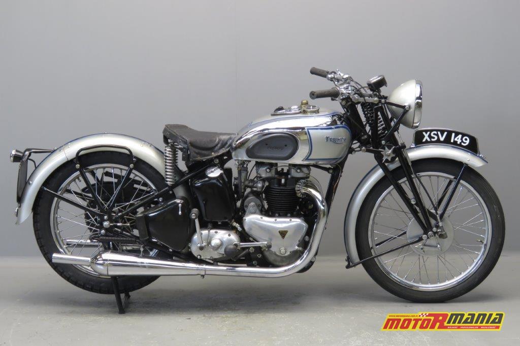 Triumph Tiger 100 z 1939 roku - w tym motocyklu naprawdę można się zakochać.