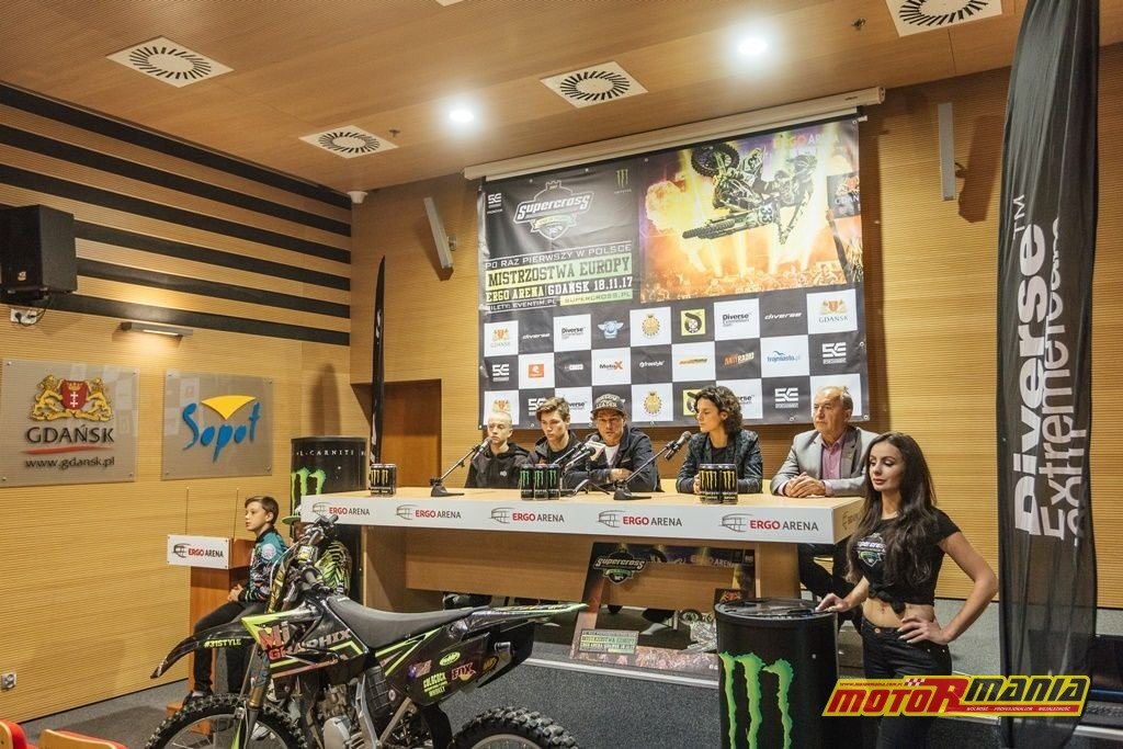 Supercross Konferencja Prasowa ErgoArena 3I0A2033 20170919
