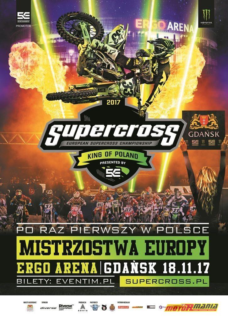 Supercross plakat