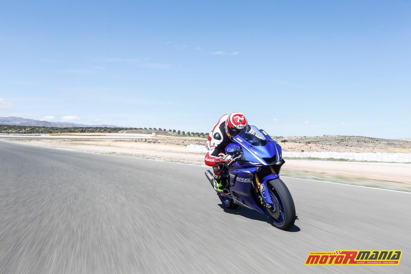Yamaha R6 Pejser