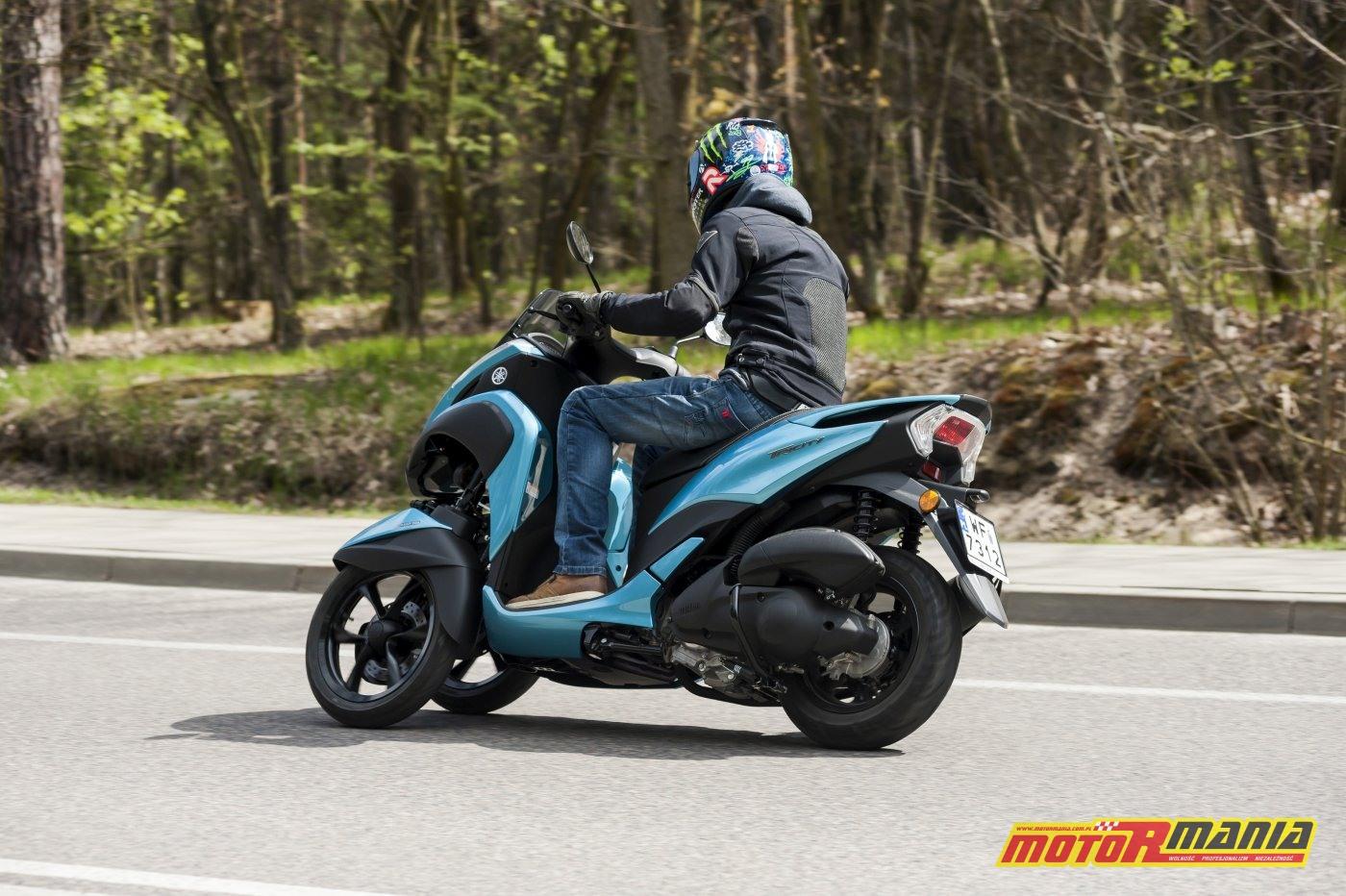 Yamaha Tricity 125 test motormania - fot Tomazi_pl (2)