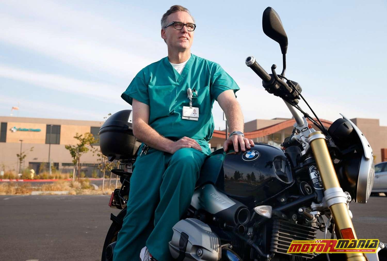 dr Scott Witt bohater motocykl pozar kalifornia (1)