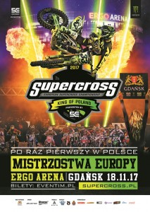 Supercross plakat