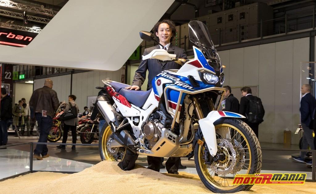 Kenji Morita - Large Project Leader dla modelu Africa Twin CRF1000L