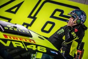 Rossi przed startem - zdjęcia Monster Energy
