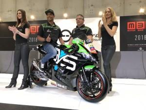Pedercini zaprezentował niedawno Hernandeza na swoim Kawasaki WorldSBK