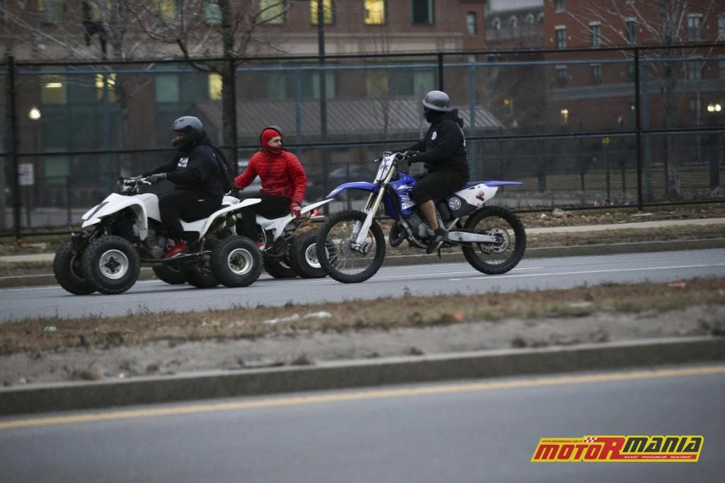 Boston motocykle policja obława (1) - fot Nicolaus Czarnecki